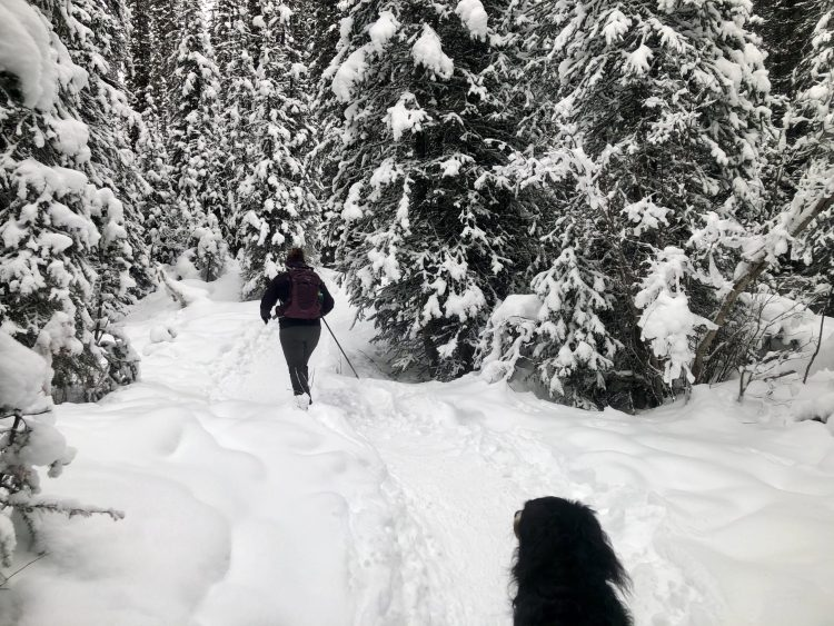 Lots of snow enroute to Chester Lake