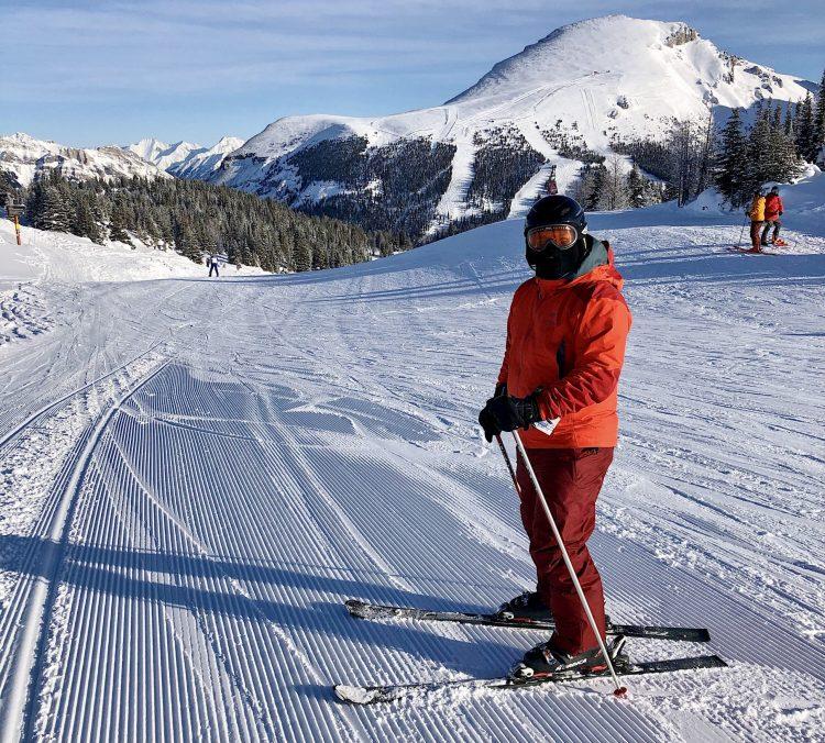 My first Banff ski trip