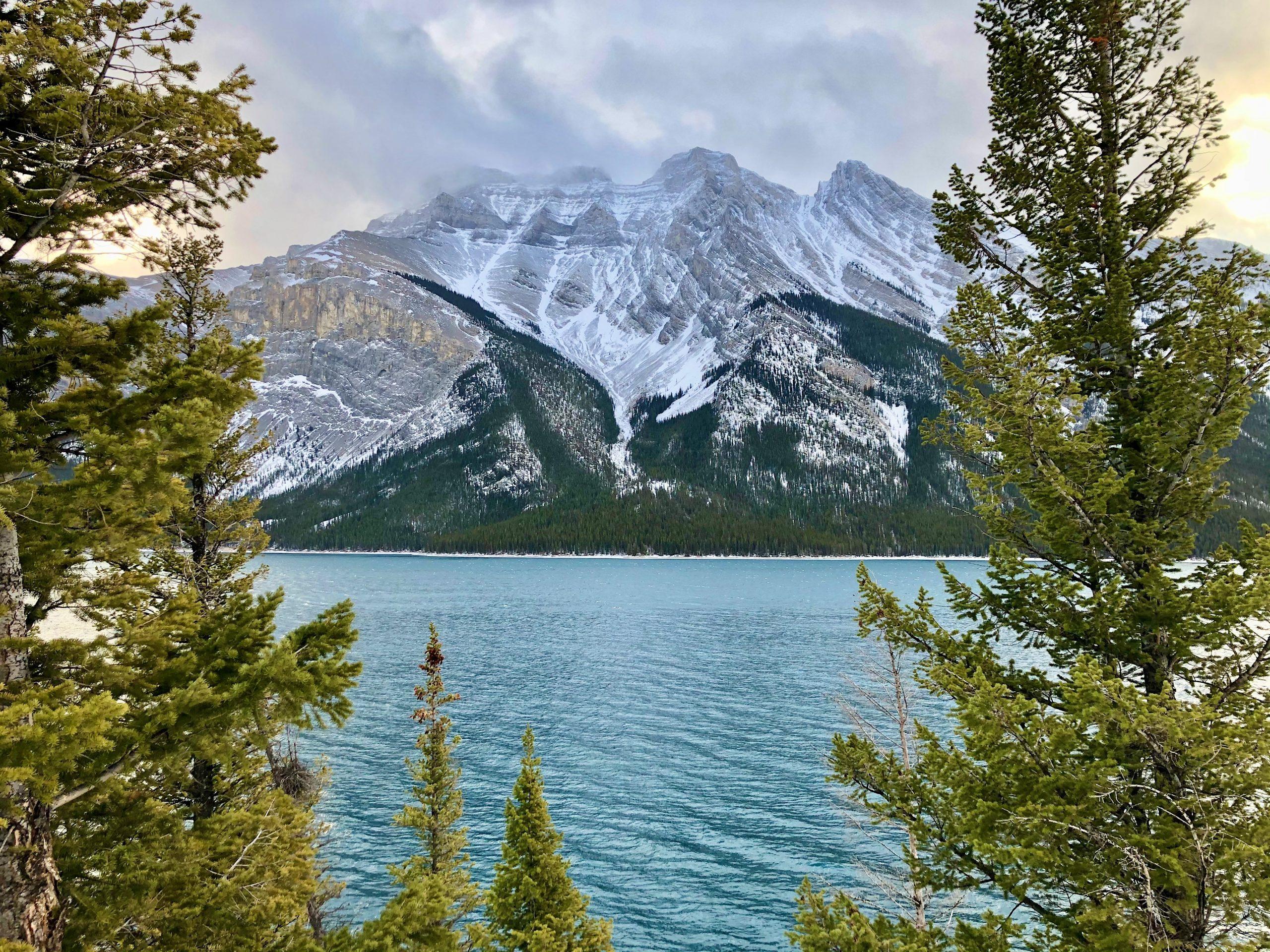 The Lake Minnewanka Hike in Alberta Will Surprise You via @outandacross
