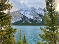 The Lake Minnewanka Hike in Alberta Will Surprise You