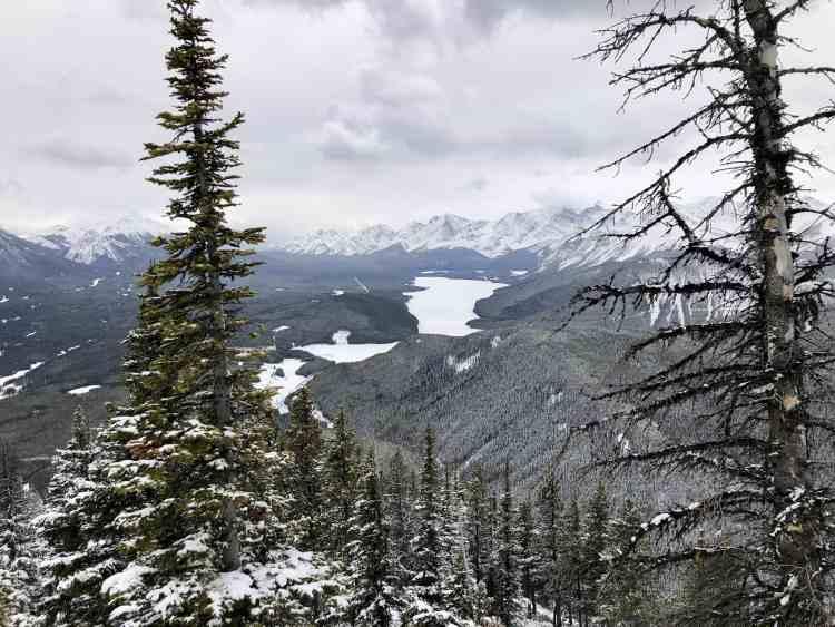 South Lawson Peak views in Kananaskis Country