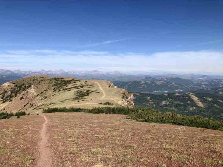 The Table Mountain hike summit looks like a table
