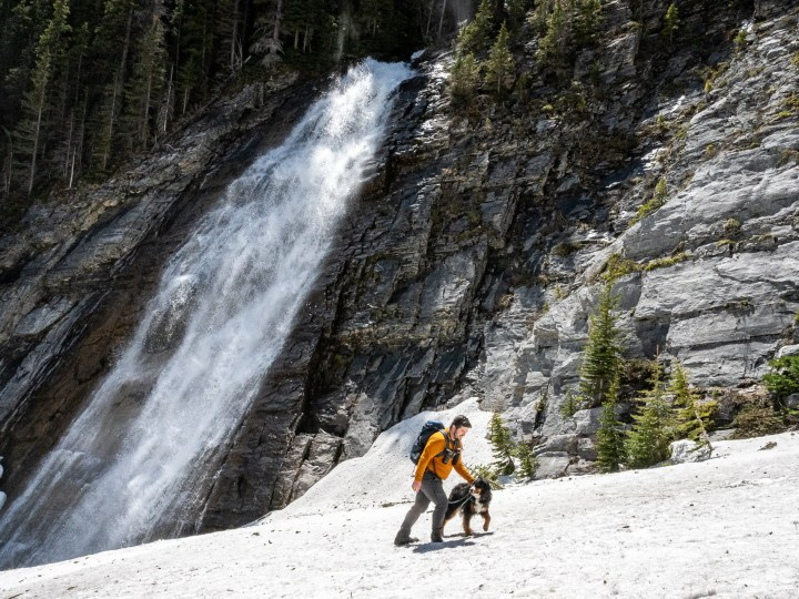 Ribbon Falls hike in Kananaskis Country