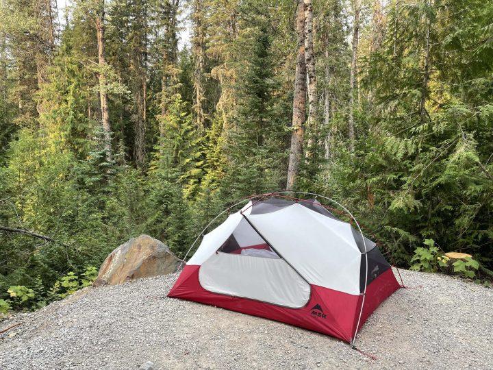 Mount Fernie Provincial Park tenting