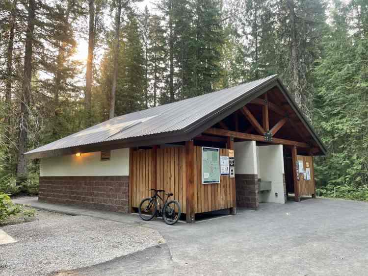 Mount Fernie Provincial Park washrooms
