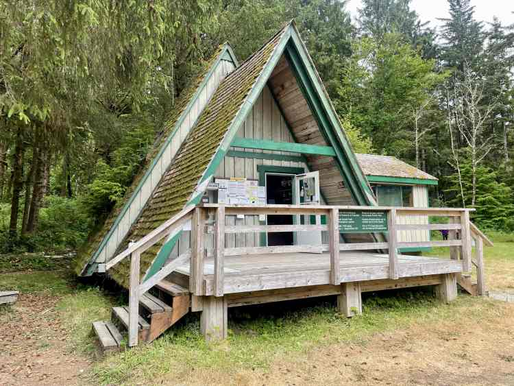 The West Coast Trail office at Pachena Bay