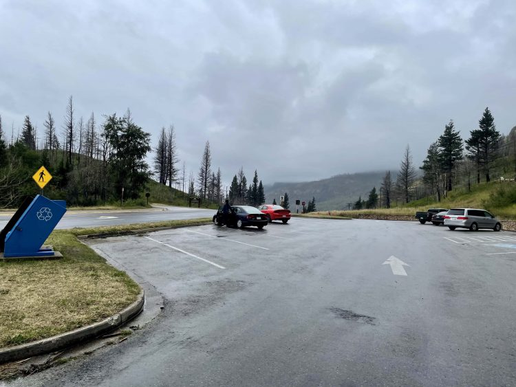 Bear's Hump trail parking