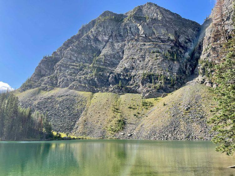 Goat Lake hike sunny morning