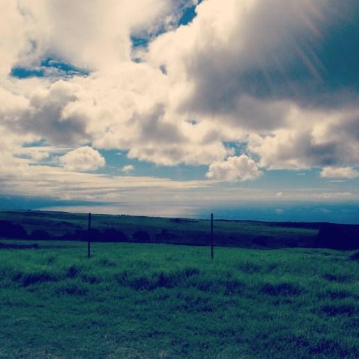 Northern tip of the Big Island
