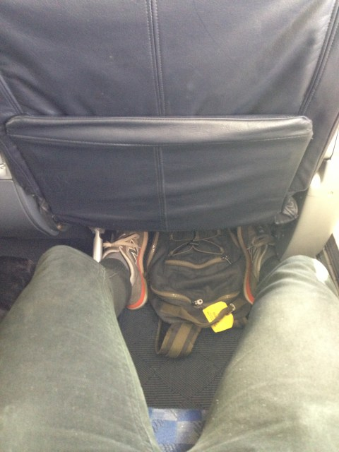 Nice amount of legroom