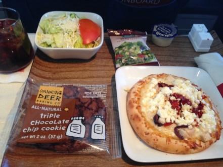 JFK-SLC meal service