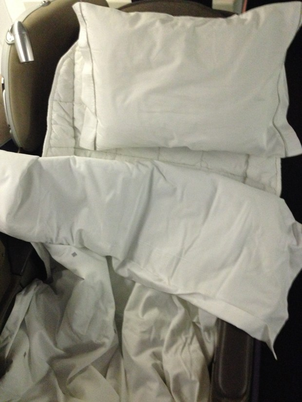 My biz bed on OpenSkies