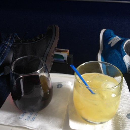First Class drinks