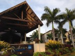 Entrance to the Radisson Blu Resort Fiji Denarau Island