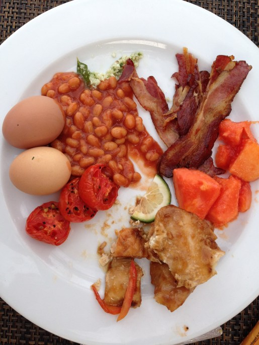 Jay's breakfast selections
