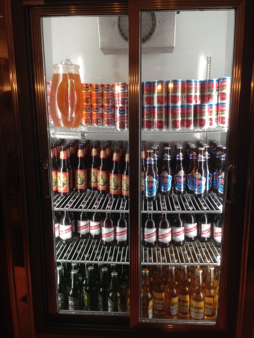 Better than a self-serve beer fridge at an airport lounge!