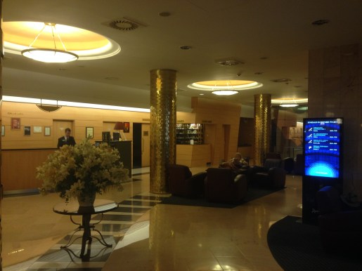 Lobby/check-in area