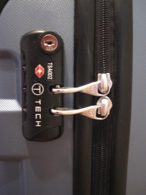 Tumi T-Tech TSA lock