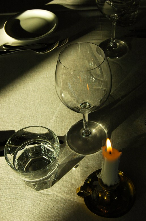 Beautiful light before dinner at Budir