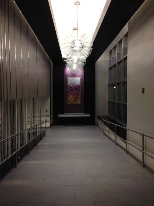Ground floor entrance of the Hyatt Regency Boston
