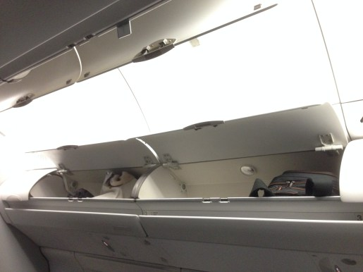 Overhead cabins and lighting