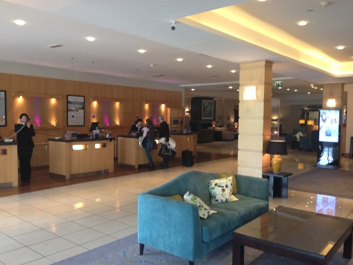 Lobby of the Radisson Blu Limerick