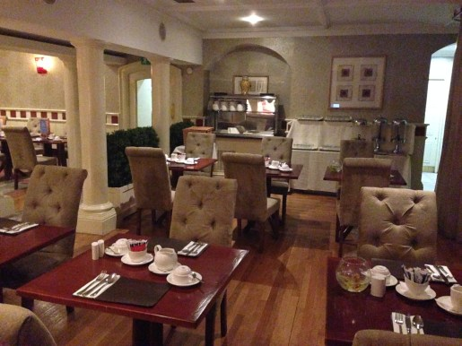 Ambiance of the restaurant