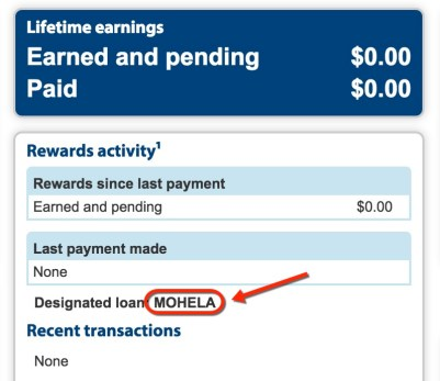 I was able to add Mohela, my student loan provider