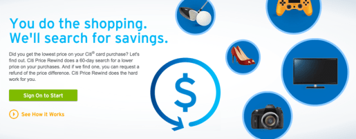 Save up to $1,200 a year ($300 per claim) with Citi Price Rewind