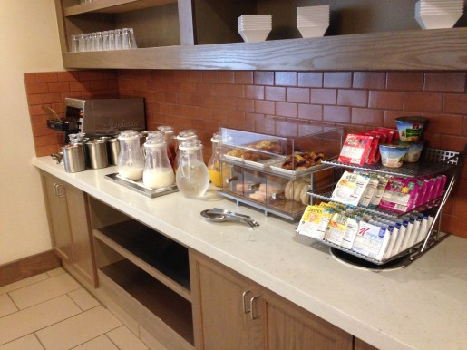 Hyatt House buffet