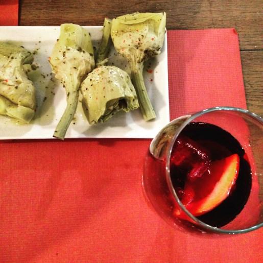 Tapas and sangria at Secrets Del Mediterrani