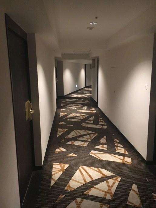 Hallways of the Hilton Tokyo