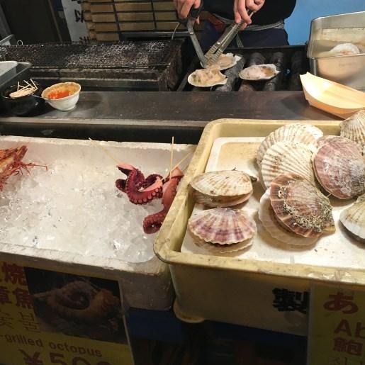 Osaka street food