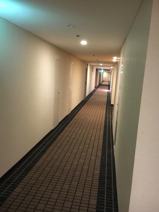 Hallways of the ANA Crowne Plaza Osaka