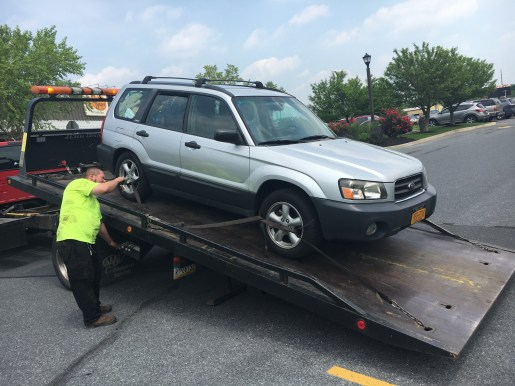 Getting towed in Pennsylvania
