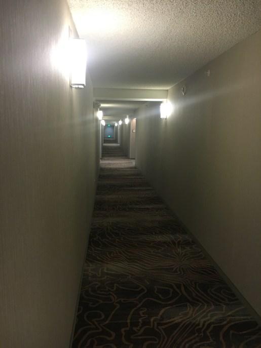 Hallways of the Homewood Suites Albuquerque Uptown