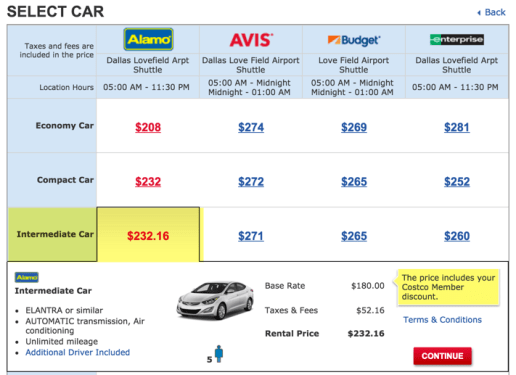 car rental best price