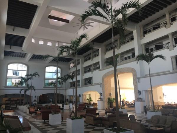 Entrance of the Hyatt Zilara Cancun