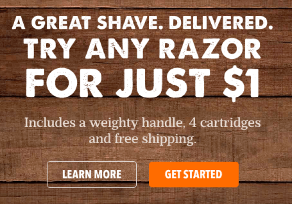 Dollar Shave Club Amex Offer