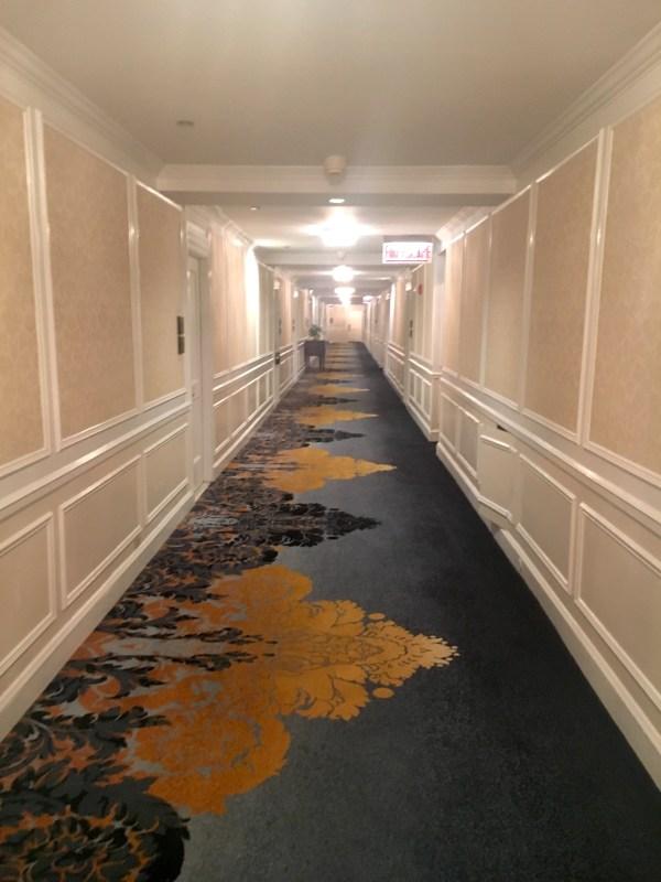 Hallways of The Drake