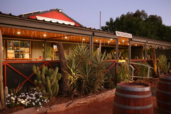 Outback Accommodation at Packsaddle Roadhouse