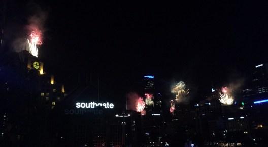 Fireworks going up around Melbourne