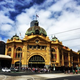 One of the most architecturally photogenic train stations in the world? - Flinder's Street Station