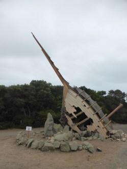 Cape Otway lighthouse entrance