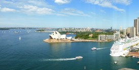 Opera House from Harbour Bridge Pylon