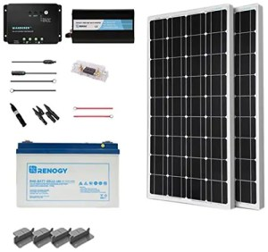 Camper Van Solar Panels & Electrical System [with Wiring Diagram]