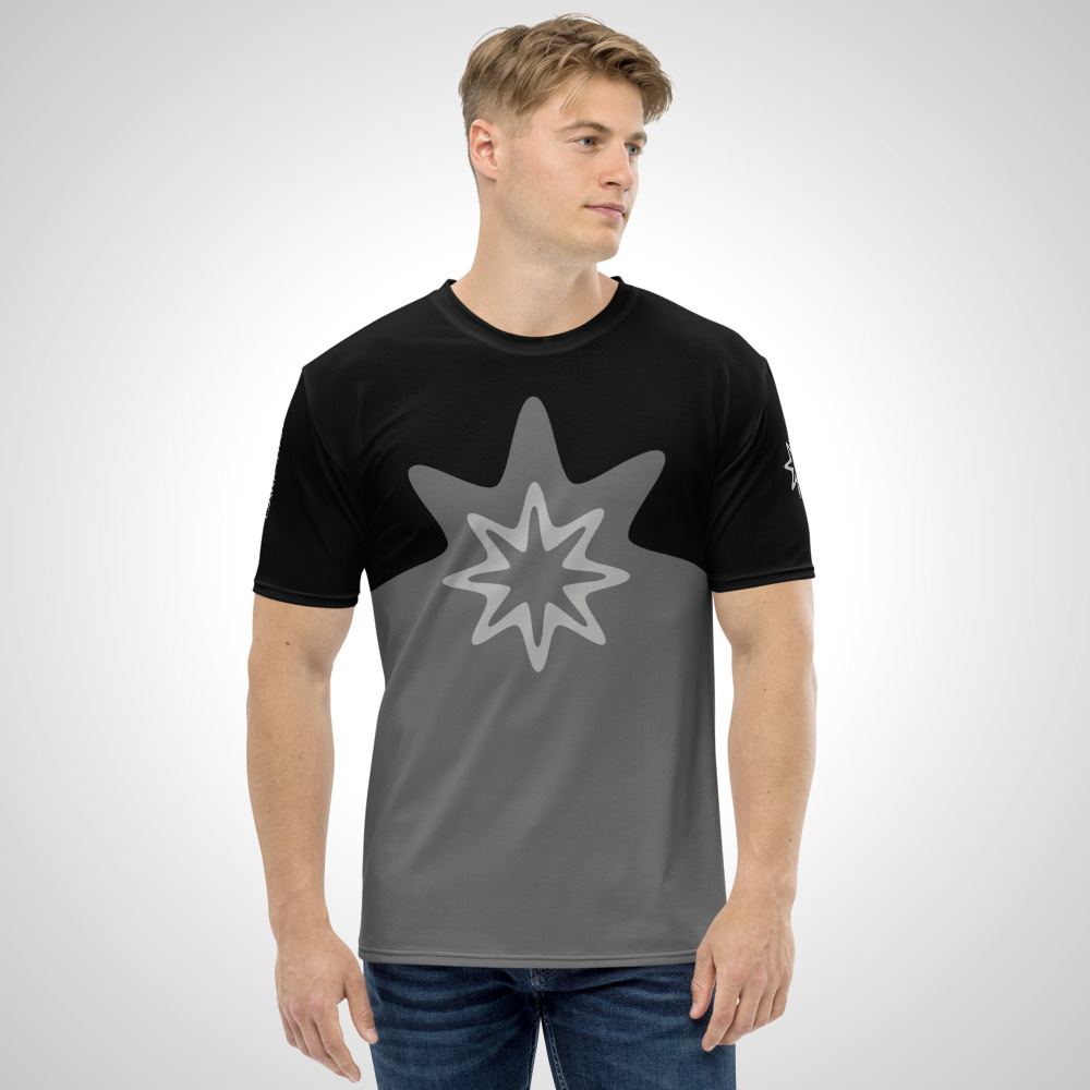 Dark Star All Over Printed T-Shirt by Outcast Rebellion Front