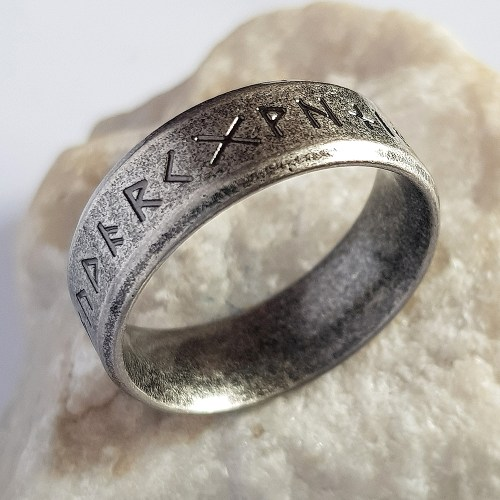 Stainless Steel Celtic Ring Outcast Rebellion