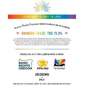 Rainbow Craze Poster Oregrown