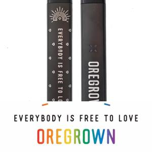 Everybody is Free to Love Oregrown and Pax donate 10% of all proceeds to Basic Rights Oregon PFLAG and OUT Central Oregon for Pride Month June 2018